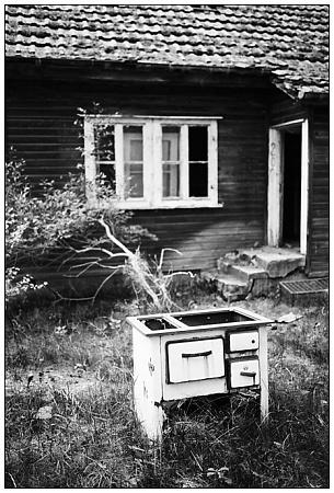 Die Hütte im Niemandsland